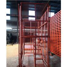 安全通道梯笼厂家大量现货供应厢式安全爬梯品质可靠定制 阜城鑫达直销