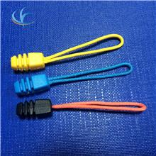 厂家现货批发箱包服装配件塑料拉链拉头 彩色塑料服饰拉尾拉头绳
