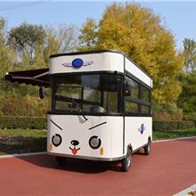 多功能商用移动手推餐车移动早餐车特色美食餐车流动小吃车