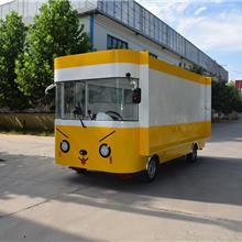 铁板四轮餐车油炸餐车串串香小吃车特色美食小吃车手推餐车