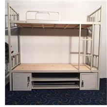 上下钢架子床-成都市学校上下铁床-成都公寓床生产厂家-礼堂椅学校家具