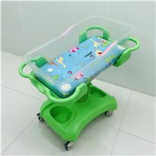 直销医用ABS婴儿车 倾斜升降婴儿床 不锈钢婴儿车床