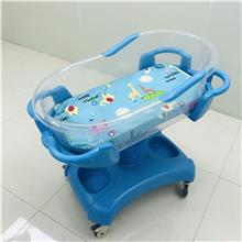 医院防溢奶升降倾斜婴儿车床 不锈钢婴儿车床 家用ABS婴儿床