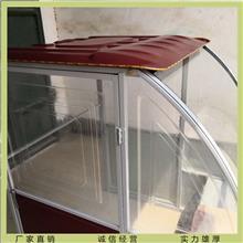 销售供应三轮车棚 全封闭式驾驶室雨棚 简易车棚