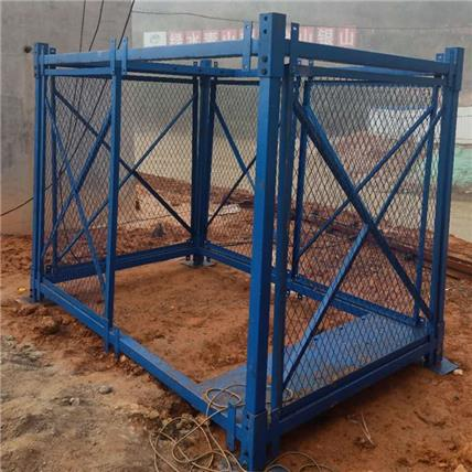 制作 箱式安全梯籠 橋墩施工梯籠 墩柱作業防護梯籠 標準規范