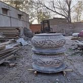 柱顶石厂家定制柱础石 及柱顶石 寺庙柱脚石
