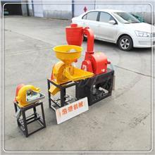 200型自吸式沙克龙磨面机 节能粮食加工磨粉机面粉加工设备