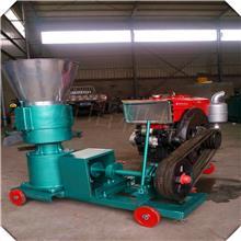 直销柴油动力饲料颗粒机 麸皮草粉压缩成粒机 厂家直销颗粒机
