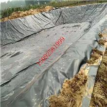 鱼塘防渗膜复合土工膜池塘防水布鱼池专用养殖黑色塑料薄膜防水膜