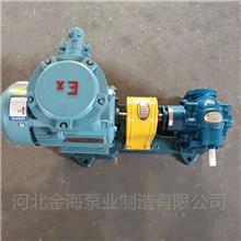 河北金海泵业制造 煤焦油输送泵 铸铁通用齿轮泵 原油泵 支持订制