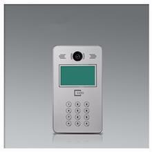SHIBL彩色可视楼宇对讲门禁系统套装 刷卡密码小区单元门对讲机门铃