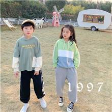 小朋友的秘密童装品牌进货 韩版童装尾货批发 大童牛仔服