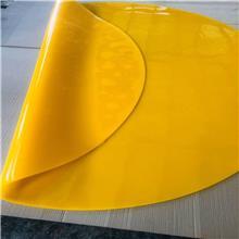 富顺聚氨酯抛丸机衬板 溜槽衬板 PU耐磨板 定做大尺寸聚氨酯板
