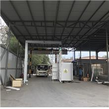 拜城物流园大型货物安检机软件升级了节能选项