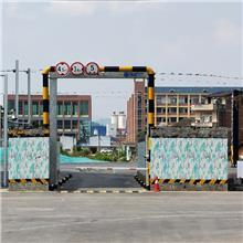 阿瓦提物流园进场安检增加了这种大型机电装备