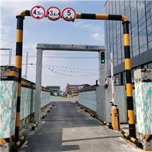 新和物流园安检通道釆用车头避让辐射装置
