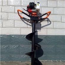 拖拉机后置悬挂挖坑机 电线杆打桩挖穴机 硬土钻洞机