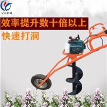汽油柴油挖坑机 拖拉机牵引式钻洞机 果园施肥挖穴机