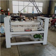 1.3宽单面皮革涂胶机 板式家具橱柜板涂胶机 酒泉模板板材涂胶机