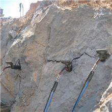 液壓劈裂棒 180巖石劈裂棒廠家 派力恩巖石分裂棒開采石灰石設備