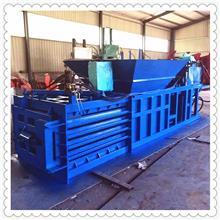 厂家定做 立式卧式打包机 加大进料口废品液压打包机 废不锈钢边角料压块机