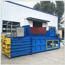 大型卧式液压废纸箱打包机 废不锈钢边角料液压打包机 60吨立式双缸液压打包机销售价格