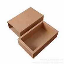 廠家定做牛皮紙盒 黑白卡襪子內褲包裝盒 紅糖抽屜盒 環保通用茶葉盒