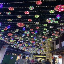 舞台吊顶橱窗展示灯光道具_幻彩灯光吊饰_生产制造商