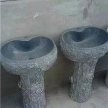 精品石雕洗衣池 拖把池 洗衣槽 落地式洗手盆 一体式水槽 带搓板洗衣槽