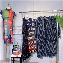 古宫 中老年女装 大码有品牌批发服装批发市场潮流时尚夏装品牌女装爆款新款夏装拿货渠道