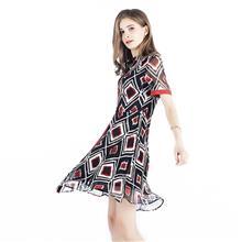 北京知名品牌白领2020春夏款品牌折扣批发女装时尚高端连衣裙货源走份