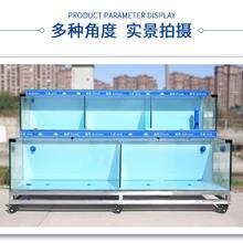 大型鱼缸工程_定做超市生鲜专用海鲜池_深圳订制酒店移动一体式鱼缸