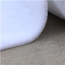 工厂热销服装喷胶棉 棉服填充洗水棉 仿真草皮用1800#黑色喷胶棉