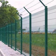 邊框防護欄浸塑鋼絲網護欄高速公路鐵路邊框鐵絲網護欄