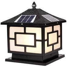 戶外太陽能燈 柱頭燈 花園別墅門柱燈 圍墻燈柱子燈 草坪燈庭院燈