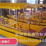 廠家直銷 搖櫓式-腳踏船,公園游船.電瓶船.電動船 常州游船廠家 多種款式可供選擇