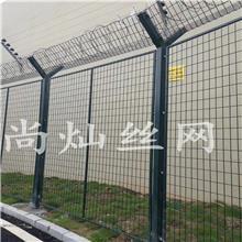 【厂家直销】护栏网高速公路护栏网双边丝护栏养殖铁丝网浸塑工艺防腐耐磨