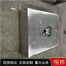 不銹鋼水沖地板蹲便器 不銹鋼集裝箱廁所防滑地板蹲便器