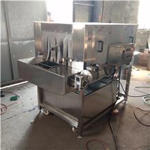 義康制造周轉箱清洗機  醬菜籃子清洗機  水果筐清洗機