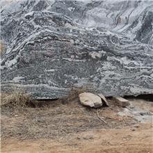 小区景观刻字石 乾元 中式庭院景观雪浪石 造景切片石