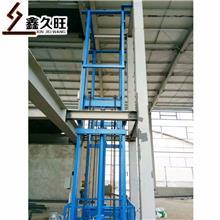 久旺 导轨式升降机 固定式液压升降货梯 物料举升机