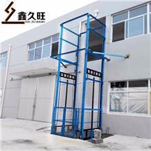 久旺 固定式液压升降平台 壁挂导轨式升降平台 生产定制