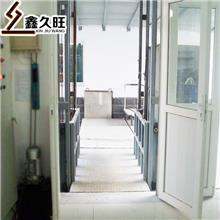 久旺 厂家直供 导轨式升降机 固定式液压升降平台 品质保障