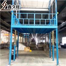 久旺 壁挂导轨式升降机 固定式液压升降货梯 厂家直销