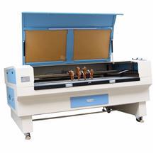 布料激光切割机 四头互移激光切割机 皮革 自动智能定位切割