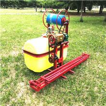 拖拉机轴传动喷药机 展臂式拖拉机悬挂打药机 350L自动卷管悬挂式打药机