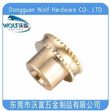 量大從優 WRJ-0045汽車配件鑲嵌螺母 沃富大批量定制加工定制CNC