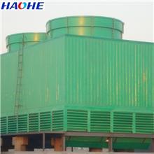 1000吨冷却塔 山东大型玻璃钢冷却塔厂家 工业型方形逆流玻璃钢冷却塔  横流式冷却塔
