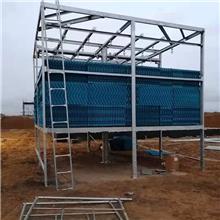 冷却塔 山东大型玻璃钢冷却塔厂家 工业型逆流玻璃钢冷却塔 玻璃钢凉水塔 横流式冷却塔