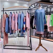 村上春品牌女装尾货货源礼诚品牌女装折扣一线品牌女装欧美连衣裙连衣裙